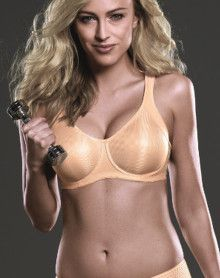 Anita Maximum Support - Momentum Underwire Sports Bra (Desert)