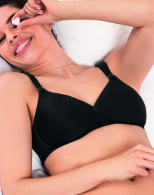 Sujetador sin aros para lactancia Anita Maternity (Negro)