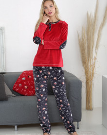 Pijama de terciopelo Massana