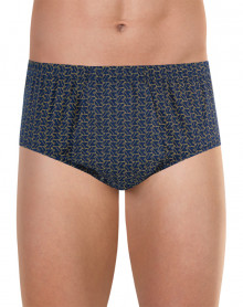 Eminence open high waist brief (Dogs navy)