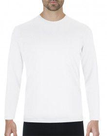Camiseta Eminence Calor Natural manga larga y cuello redondo (Blanca)