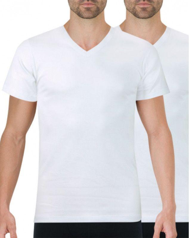 Lot de 2 T-shirts Athena Blanc