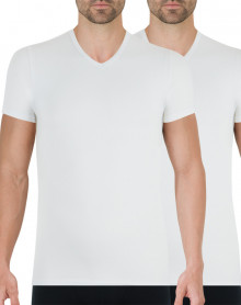 Pack of 2 t-shirts Athena Full Stretch (White)