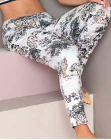 Pants Antigel Tigre de Jouy (Decor Savane)