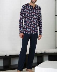 Pyjama motif canettes Massana