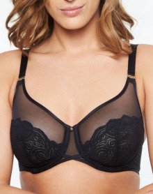 4 parts bra Chantelle Pyramide (Black)