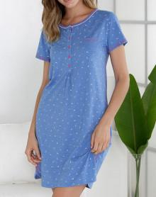 Mesdames m/&s Siz 14 Gris Doux Stretch Chemise De Nuit Robe Robe De Chambre Lounge Wear Free Post