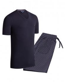Pyjama Court 100% coton Eden Park (D85)