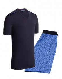Pijama corto 100% algodón Eden Park (C27)