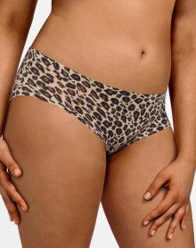 Shorty Chantelle Soft Stretch (Leopard Nude)