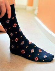 Collection de chaussettes de la marque HOM