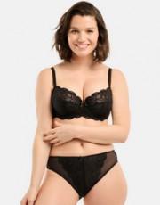 Collection Ariane (Noir) de la marque de lingerie Sans Complexe
